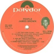 LP - James Brown - People