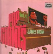 LP - James Brown - Pop Giants Vol. 4