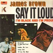 LP - james  Brown - Say It Loud (I'm Black And I'm Proud)