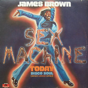 LP - James Brown - Sex Machine Today