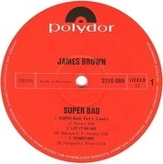 LP - James Brown - Super Bad