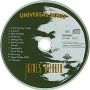 CD - James Brown - Universal James