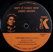LP - James Brown & The James Brown Band - Ain't It Funky - Orange / Black Labels