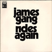 LP - James Gang - James Gang Rides Again - Original 1st German