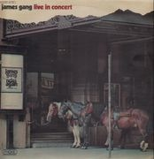 LP - James Gang - Live In Concert - rare