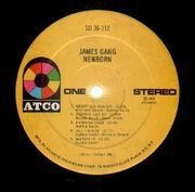 LP - James Gang - Newborn