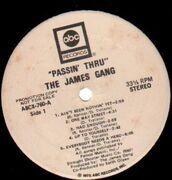 LP - James Gang - Passin' Thru - Promotional Copy