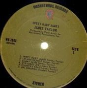 LP - James Taylor - Sweet Baby James