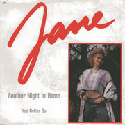 7inch Vinyl Single - Jane - Another Night In Rome