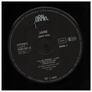 Double LP - Jane - Jane Live - black labels