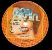 Double LP - Jane - Jane Live - gold labels, no label code