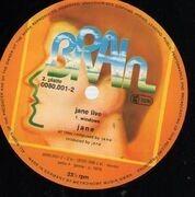 Double LP - Jane - Jane Live - GOLD BRAIN LABELS