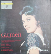 LP - Jane Rhodes , Albert Lance , Robert Massard , Andréa Guiot , Janine Panis , Jacqueline Broudeur , J - Carmen - Gatefold