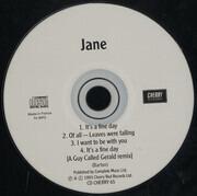 CD Single - Jane - It's A Fine Day