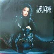 12inch Vinyl Single - Janet Jackson - Black Cat