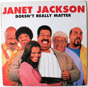 Doesn't Really Matter - Janet Jackson   12'', CD Single