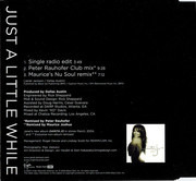 CD Single - Janet Jackson - Just A Little While