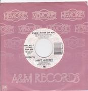 7inch Vinyl Single - Janet Jackson - Control
