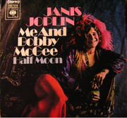 7inch Vinyl Single - Janis Joplin - Me And Bobby McGee / Half Moon
