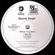 12inch Vinyl Single - Jay-Z / Beanie Sigel - Jigga My Nigga / What A Thug About