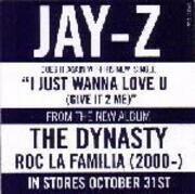 12inch Vinyl Single - Jay-Z - I Just Wanna Love U (Give It To Me) / Parking Lot Pimpin'
