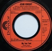 7inch Vinyl Single - Jean Knight - My Toot Toot