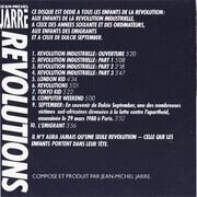 CD - Jean-Michel Jarre - Revolutions