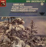 LP - Jean Sibelius , Bournemouth Symphony Orchestra , Paavo Berglund - Luonnotar, Op. 70 / Pelleas Et Milisande - Incidental Music, Op. 46 / En Saga, Op. 9 / The Oceanides, Op. 73