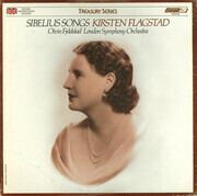 LP - Jean Sibelius : Kirsten Flagstad , The London Symphony Orchestra , Øivin Fjeldstad - Sibelius Songs