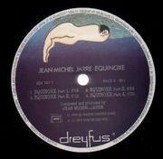 LP - Jean Michel Jarre - Equinoxe