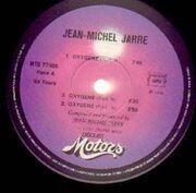 LP - Jean Michel Jarre - Oxygène