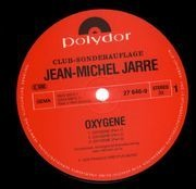 LP - Jean Michel Jarre - Oxygene