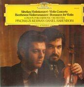 LP - Sibelius / Beethoven - Violinkonzert / Violinromanzen