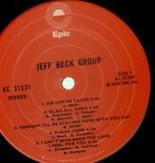 LP - Jeff Beck Group - Jeff Beck Group - ORANGE EPIC LABELS