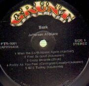 LP - Jefferson Airplane - Bark