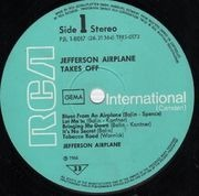 LP - Jefferson Airplane - Takes Off