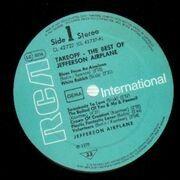 LP - Jefferson Airplane - The Best Of Jefferson Airplane