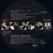 12inch Vinyl Single - Jeffrey Osborne - She's On The Left