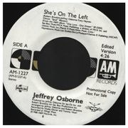 7inch Vinyl Single - Jeffrey Osborne - She's On The Left - Promo