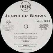 12inch Vinyl Single - Jennifer Brown - Alive (Remixes)