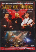 DVD - Jerry Lee Lewis , Ronnie Hawkins , Carl Perkins Avec Jeff Healey , The Band & Various - Let It Rock: The 60th Birthday Concert - Still Sealed