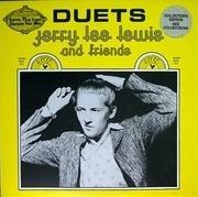 LP - Jerry Lee Lewis & Friends - Duets