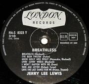 LP - Jerry Lee Lewis - Breathless