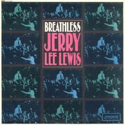LP - Jerry Lee Lewis - Breathless - Plum Label