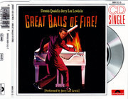 CD Single - Jerry Lee Lewis - Great Balls Of Fire