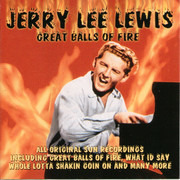 CD - Jerry Lee Lewis - Great Balls Of Fire