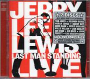 CD & DVD - Jerry Lee Lewis - Last Man Standing Live