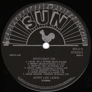 LP - Jerry Lee Lewis - Spotlight On... Jerry Lee Lewis
