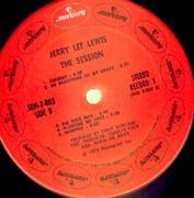 Double LP - Jerry Lee Lewis - The Session Recorded In London With Great Guest Artists - FOC, Gimmick Cover