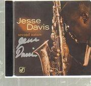 CD - Jesse Davis - Second Nature - Signed